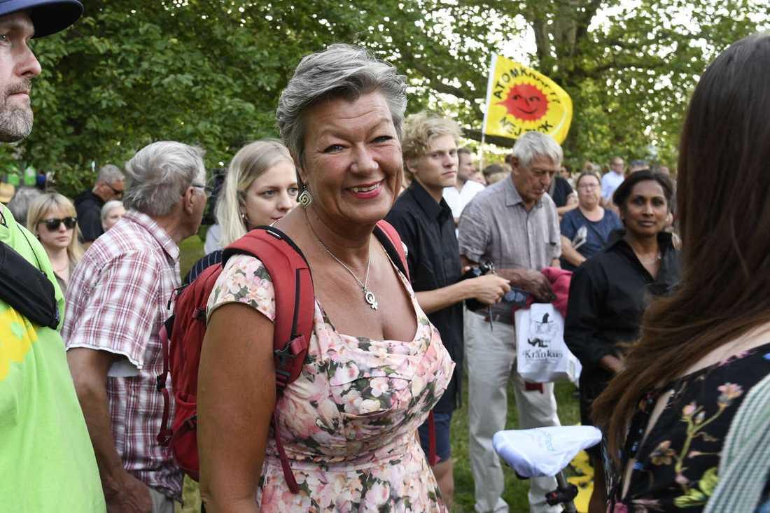 Ylva Johansson (S) arbetsmarknadsminister.