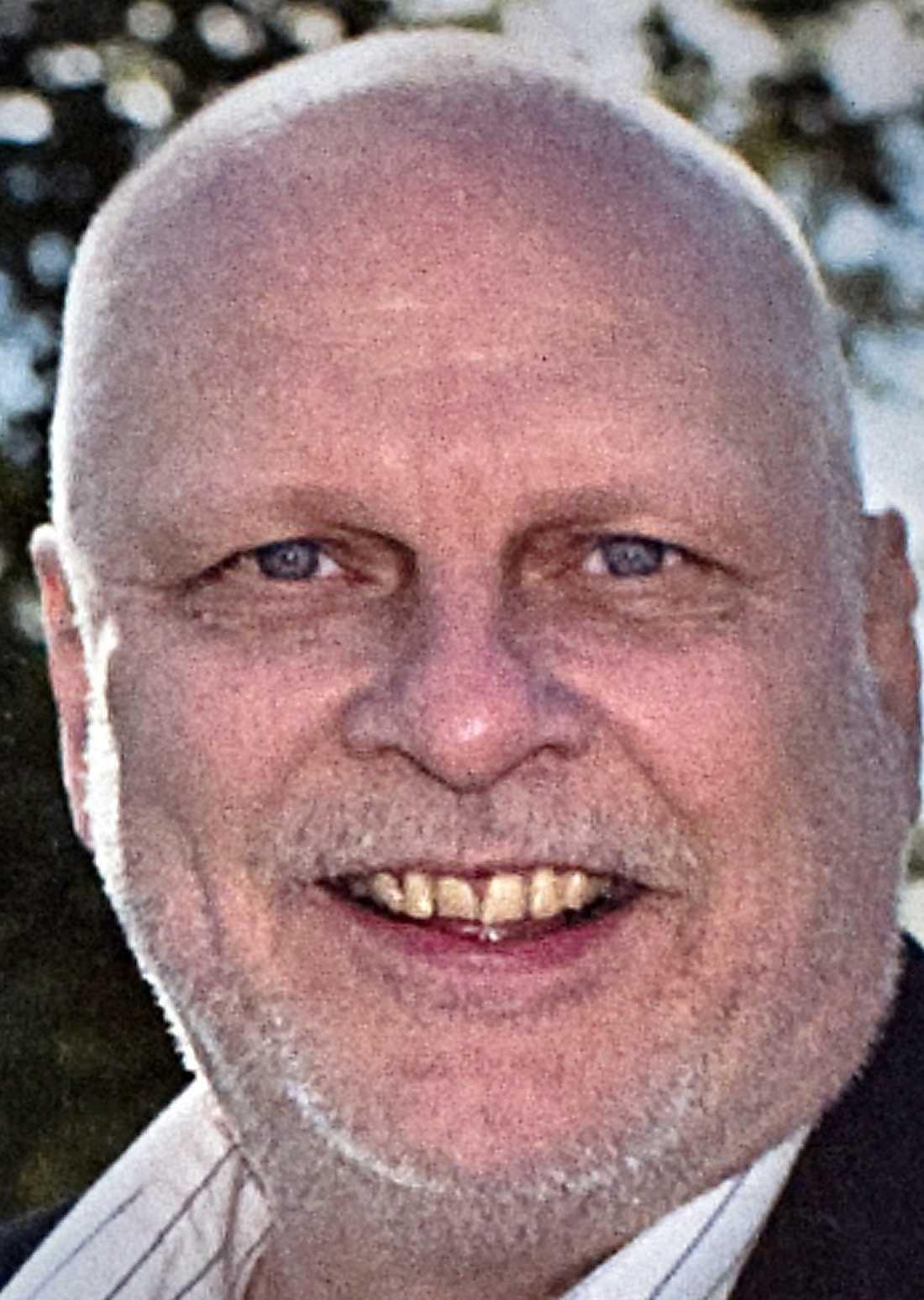 Läraren Tommy Johansson.