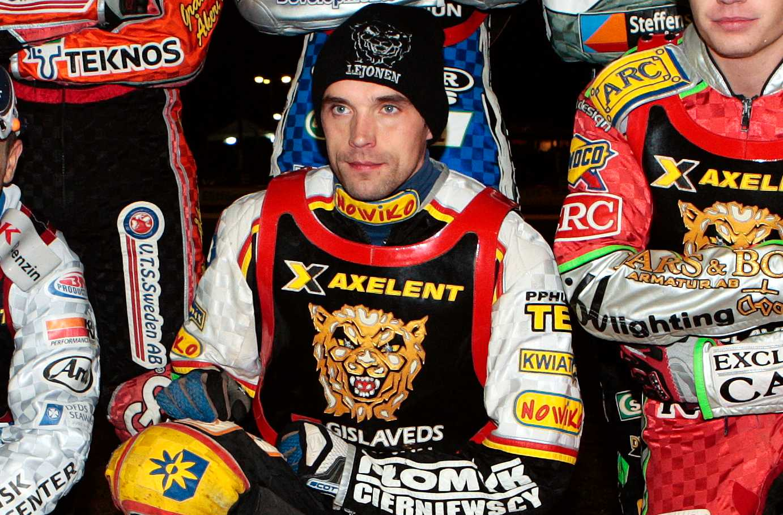 Tomasz Jedrzejak under tiden i Lejonen.