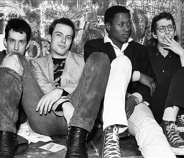 Amerikanska punkbandet Dead Kennedys.