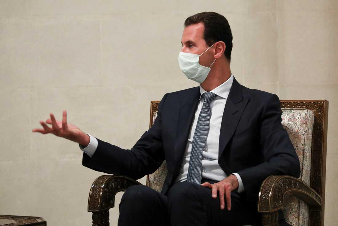 Syriens president Bashar al-Assad. Arkivbild.