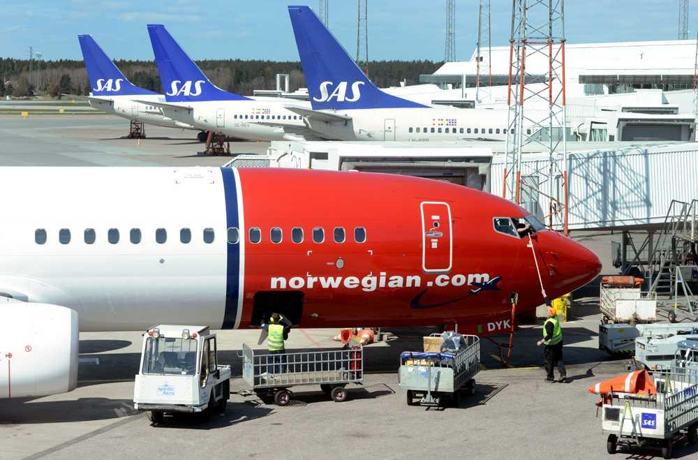 Norwegian går som tåget – i motsats till SAS...