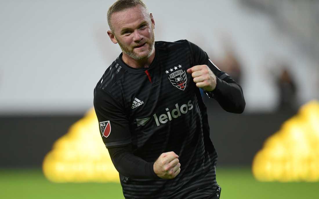 Wayne Rooney i DC United-tröjan.