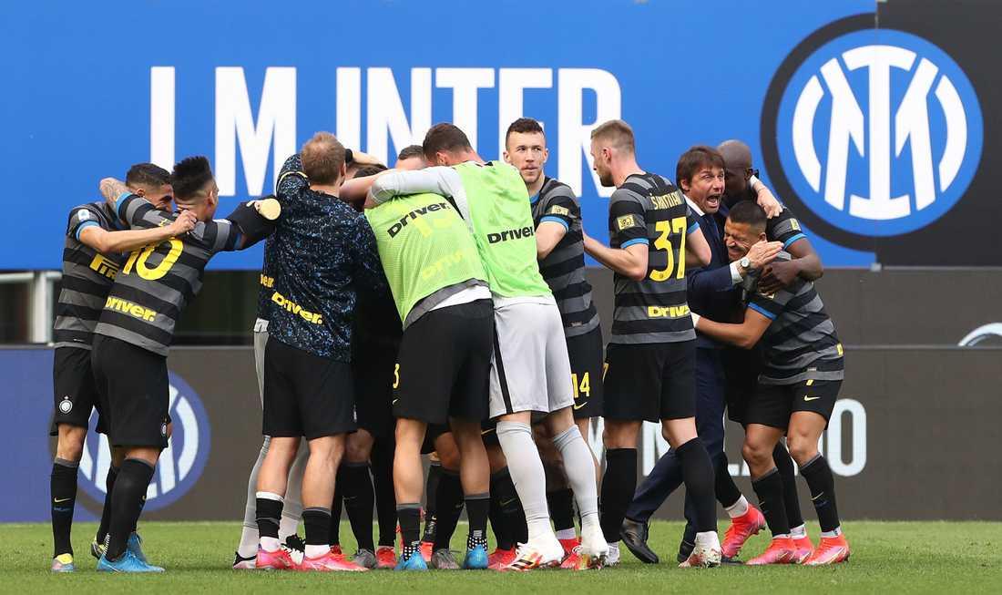 Inter bröt nio år långa sviten och vann Serie A.