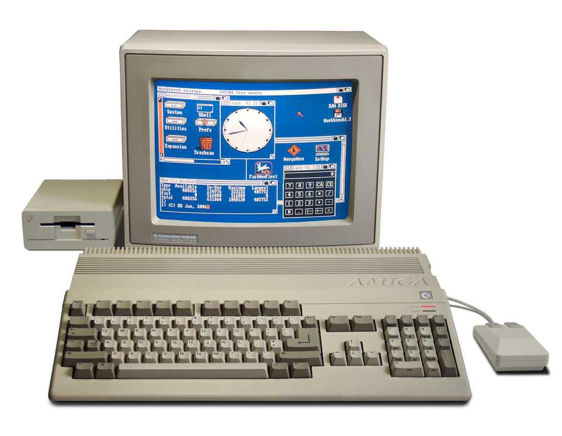 Amiga 500-datorn får en nostalgisk tillbakablick.