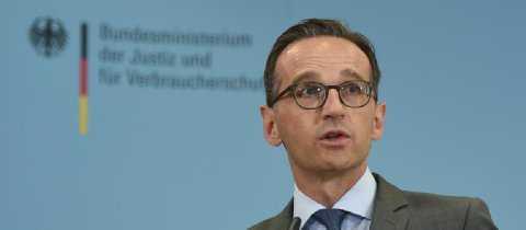 Heiko Maas, justitieminister i Tyskland.