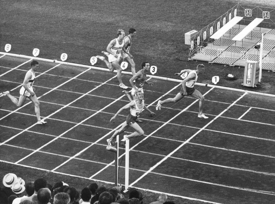 Owe Jonsson vinner EM-guld 1962