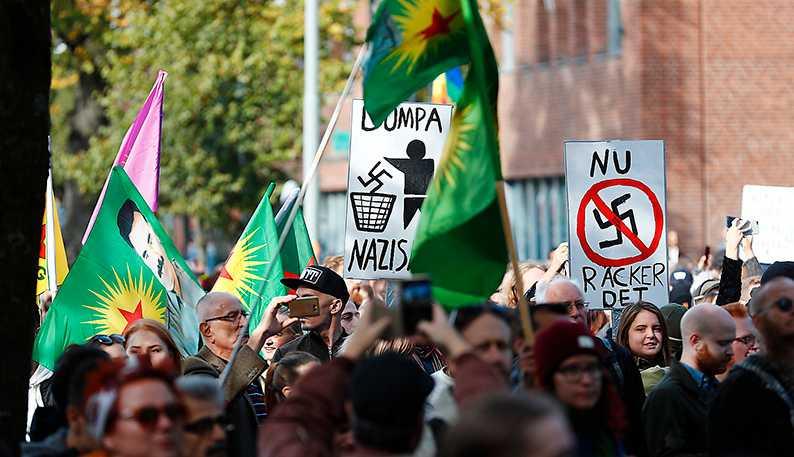 När människor protesterade mot nazisterna under Bokmässan var det mer än en symbolhandling, skriver Petter Larsson.