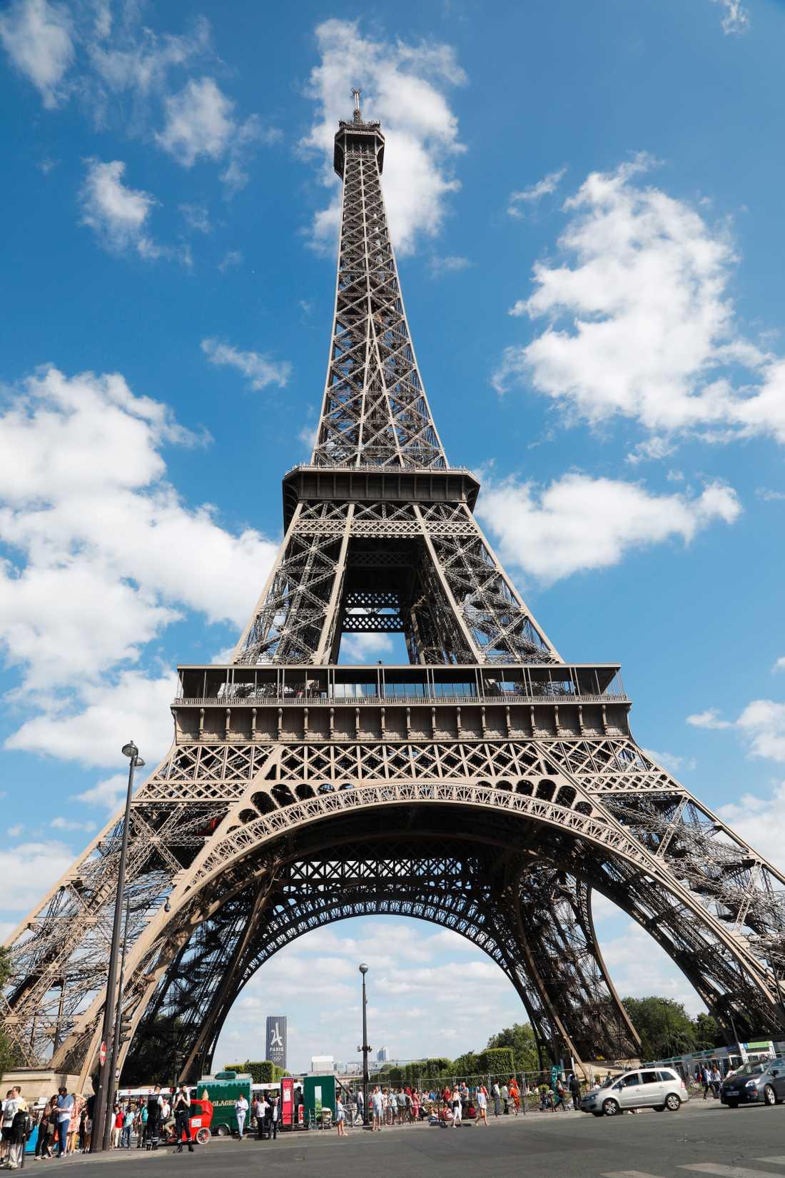 Eiffeltornet. Arkivbild.