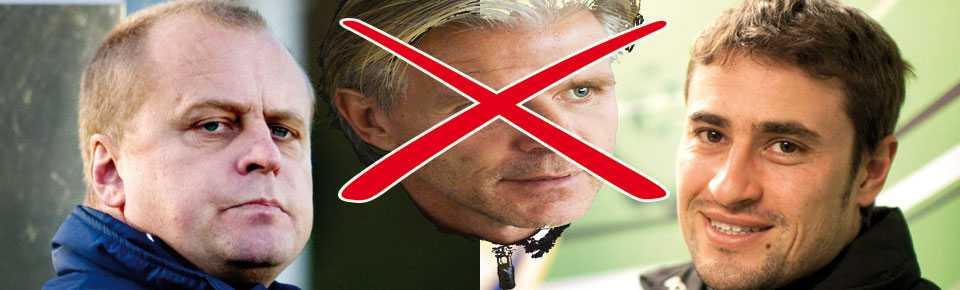 Roland Nilsson är på väg bort från MFF. Jonas Thern och Pep Clotet Ruiz är hetaste kandidater till att ersätta honom.