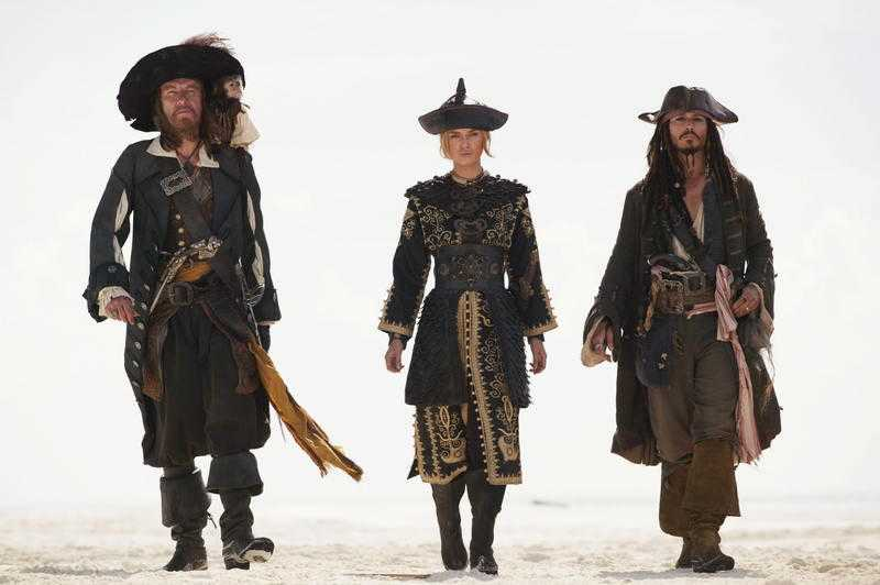 """Pirates of the Carribean"" – Captain Jack Sparrow 2003."