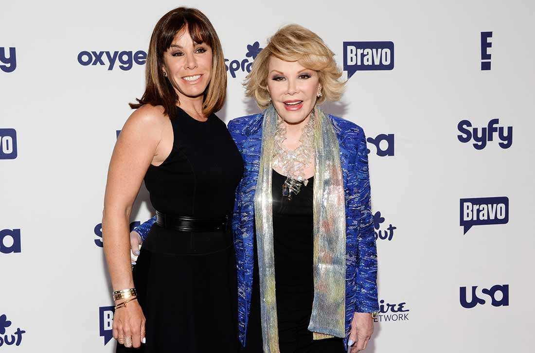 Melissa Rivers och Joan Rivers på en gala i maj i år.