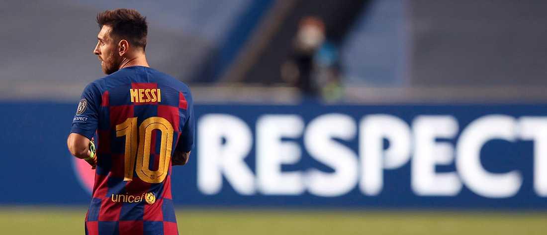 Lionel Messis burofax har skapat kaos i Barcelona.