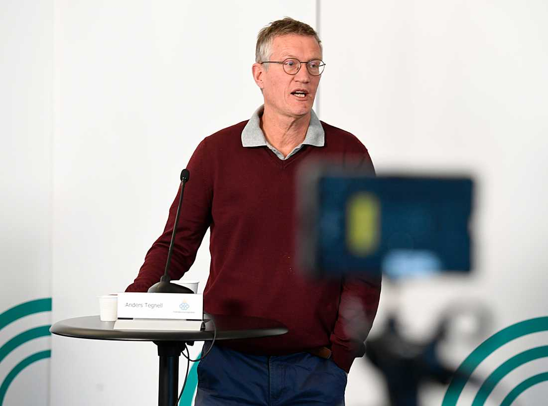 Anders Tegnell Om Sveriges R Tal Positivt Tecken Aftonbladet