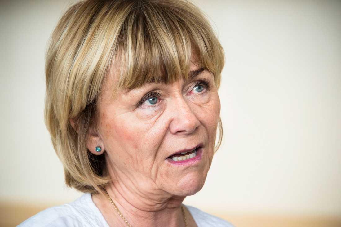 Beatrice Ask, rättspolitisk talesperson (M)