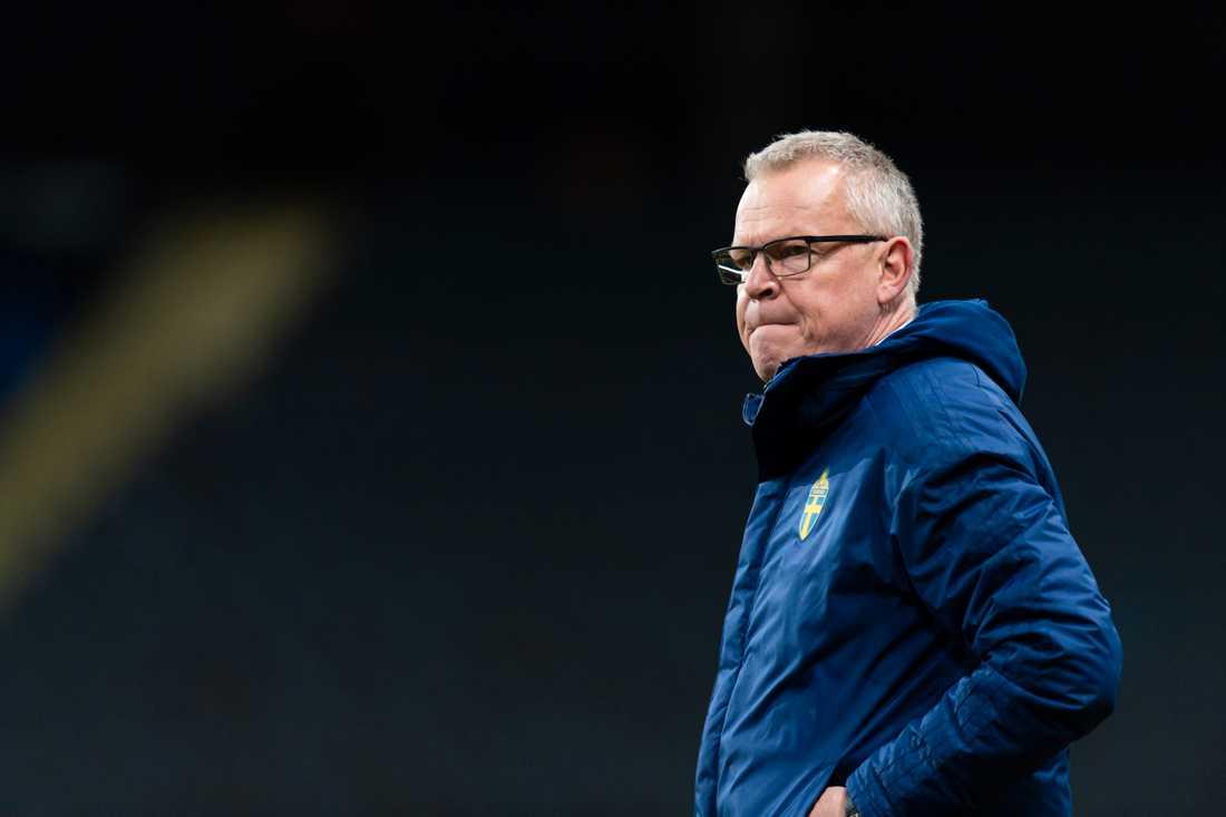 Janne Andersson tar ut Sveriges trupp till fotbolls-EM 2021 den 18 maj.