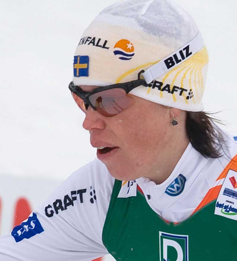 Lina Andersson –fajtas om en VM-biljett.