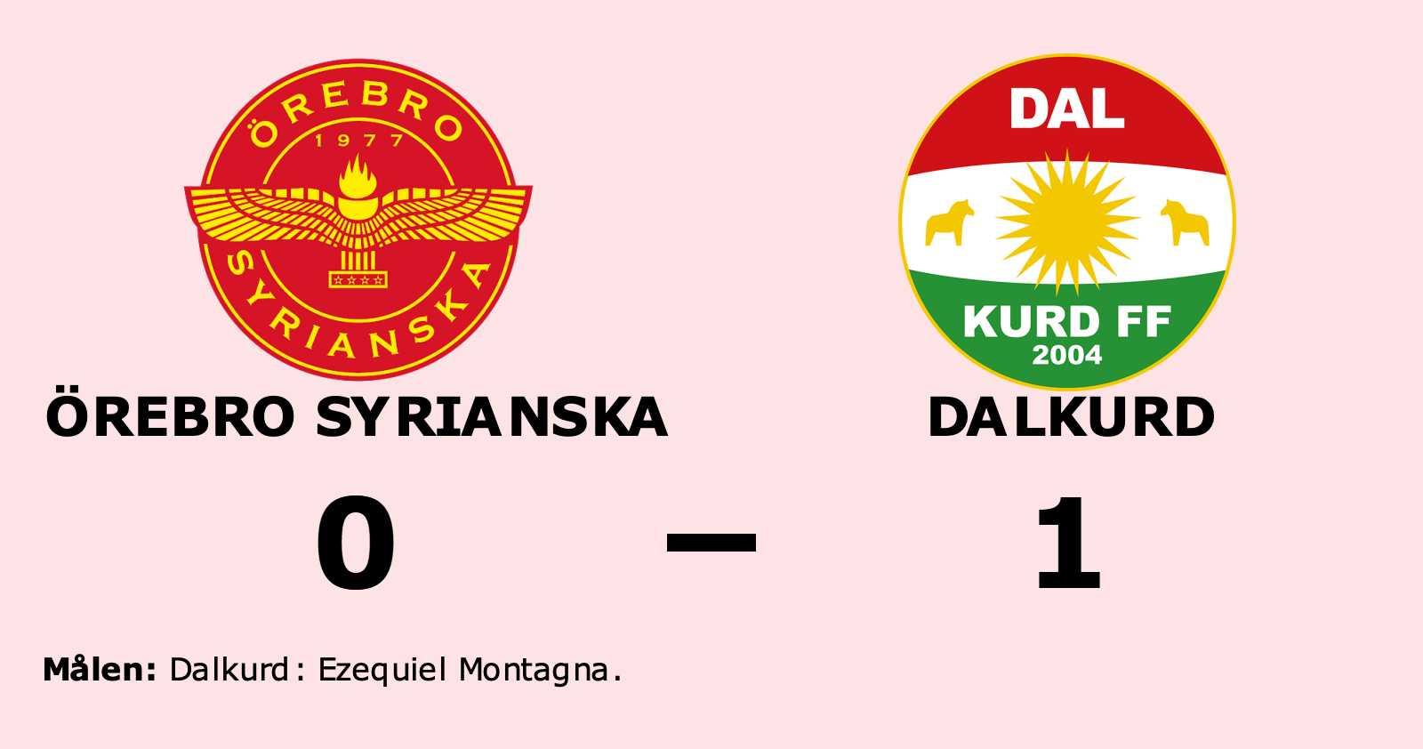 Örebro Syrianska föll mot Dalkurd på hemmaplan