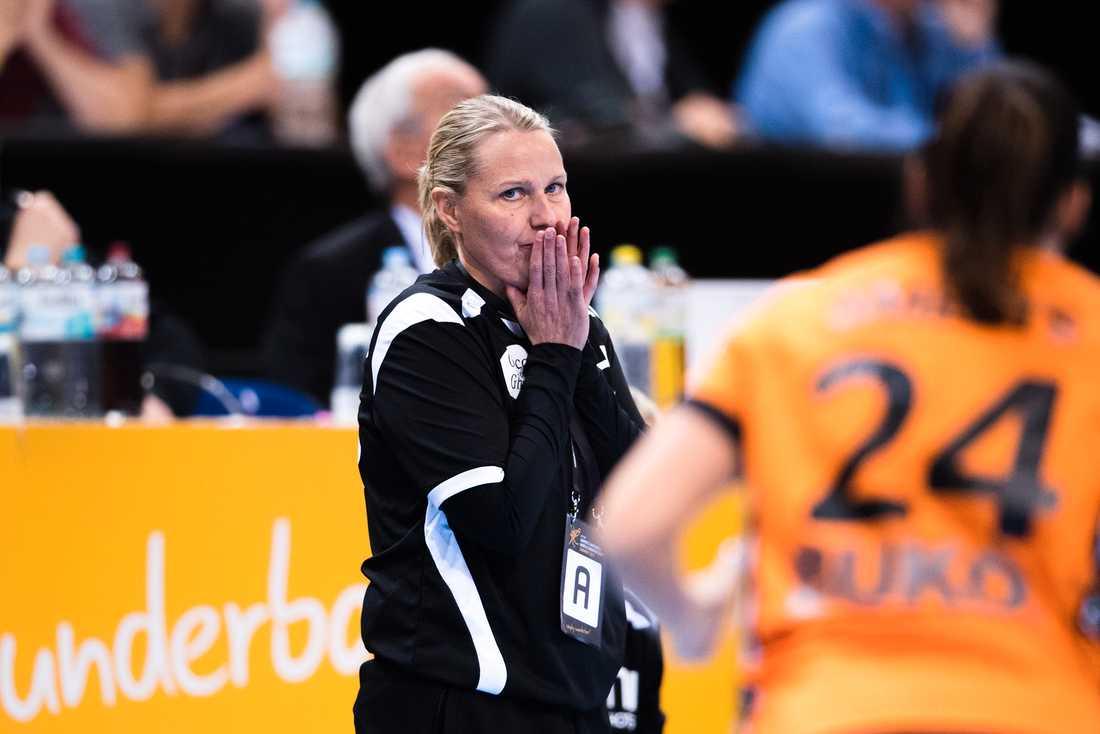 Sveriges tidigare förbundskapten Helle Thomsen