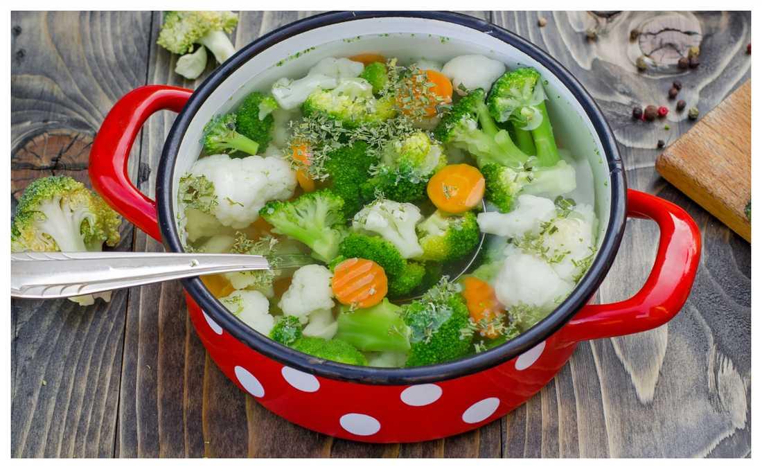 Värmande och god grönsakssoppa.