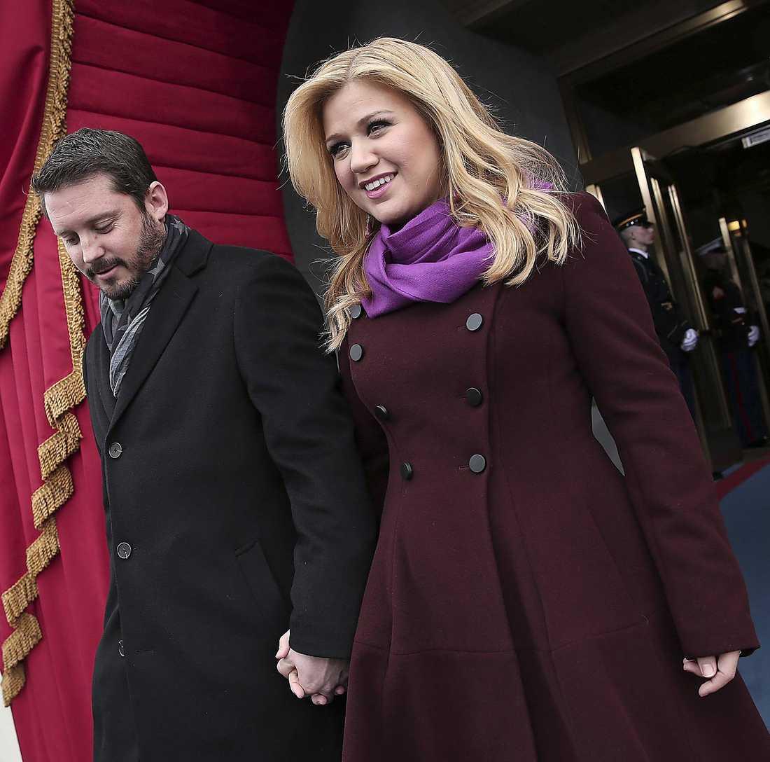 Kelly Clarkson och maken Brandon Blackstock.