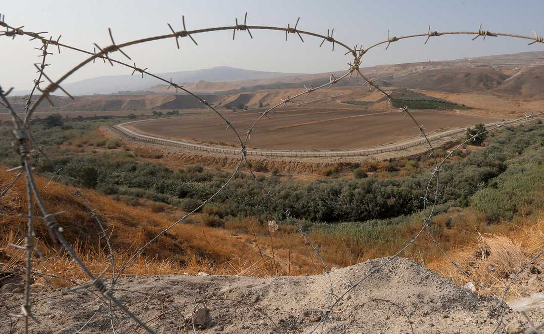 Israels premiärminister Benjamin Netanyahu går vidare med förslaget om annektering av Jordandalen. Arkivbild.