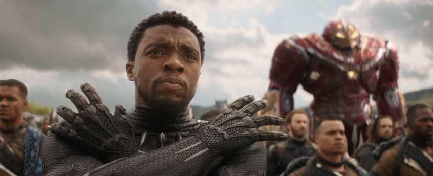 """Chadwick Boseman i """"Avengers: Infinity war""""."""