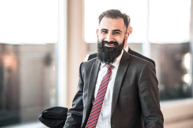 Hanif Bali, riksdagsledamot för Moderaterna.