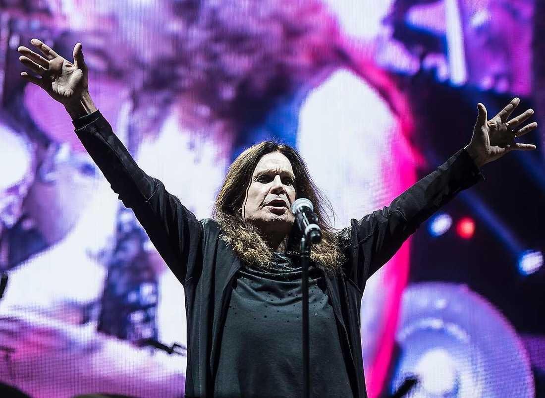 Black Sabbaths frontman Ozzy Osbourne