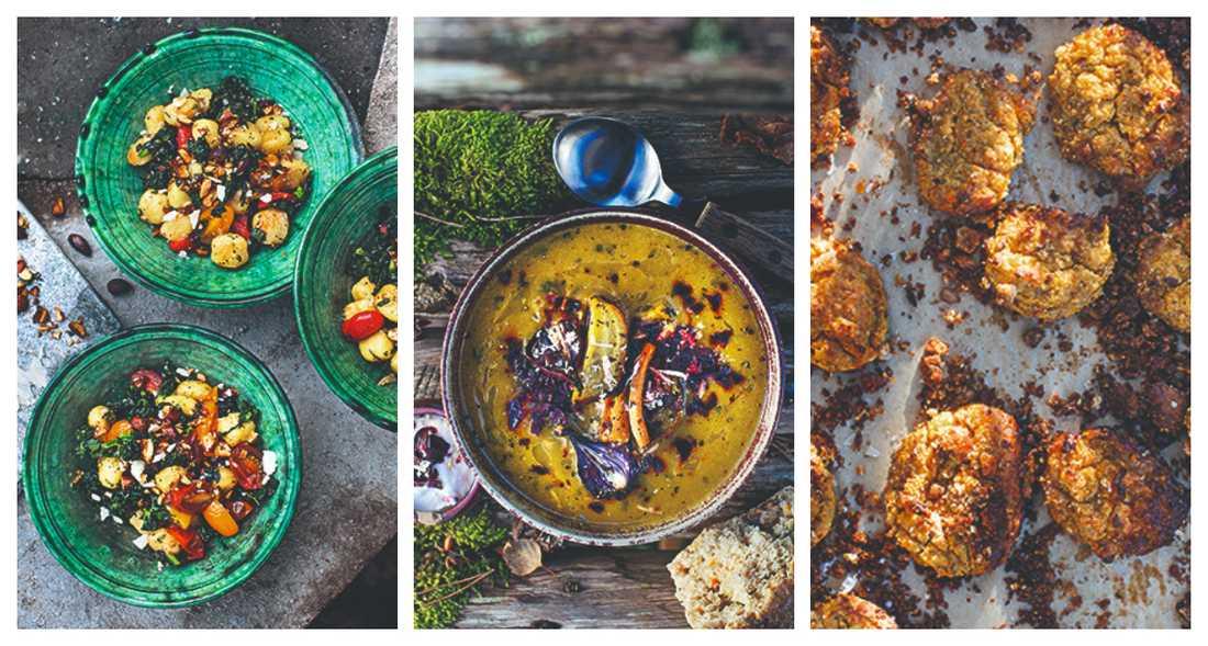 """Gårdagens rester förenklar vardagspusslet och minskar matsvinnet, säger Cecilia Blankens som skrivit kokboken """"Nyfiken grönare."""