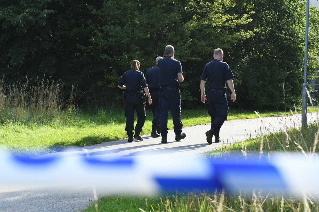 Den misstänkta våldtäkten var i närheten av Husiegårdens idrottsplats i Malmö.