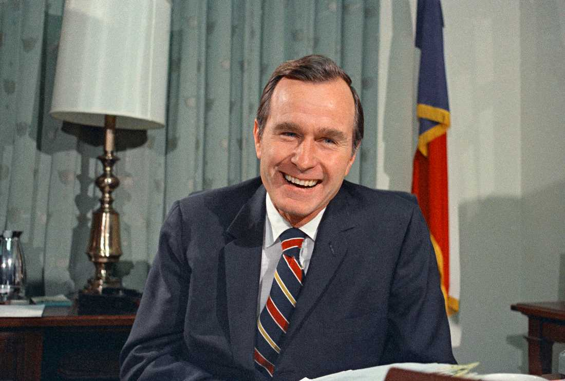 n this Dec. 18, 1970, file photo, newly appointed United Nations Ambassador George H. Bush smiles