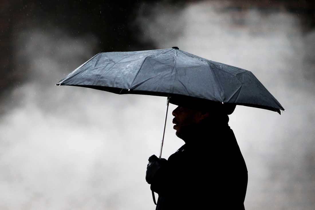 Regniga dagar väntar i flera delar av landet den kommande veckan. Arkivbild.