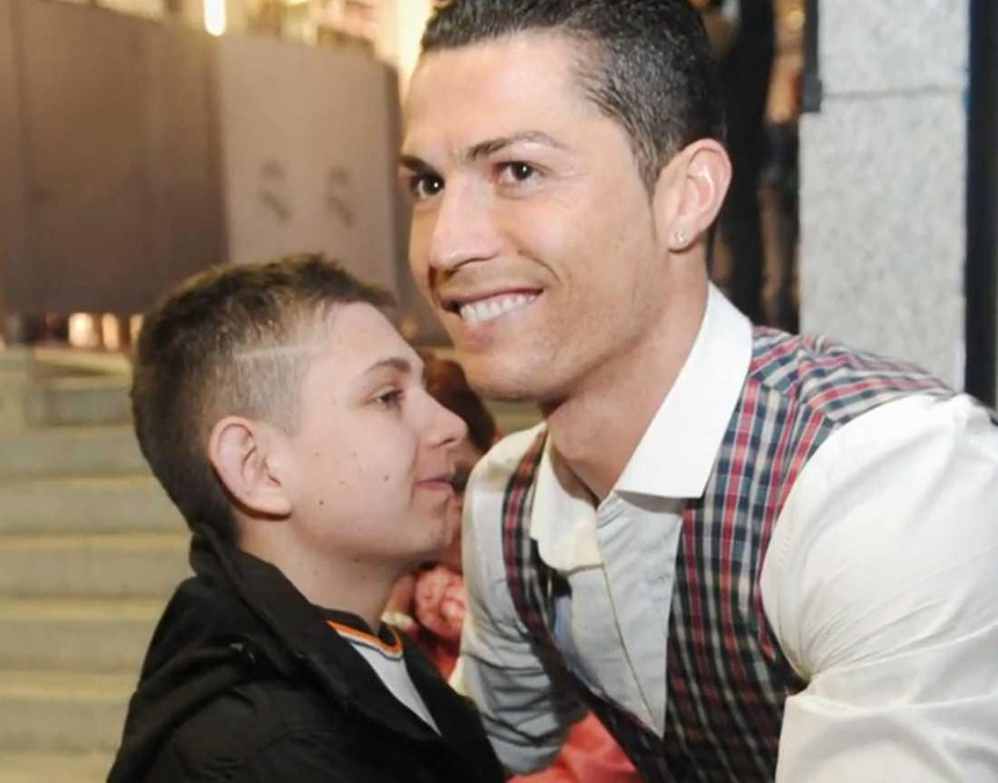 David och Ronaldo.