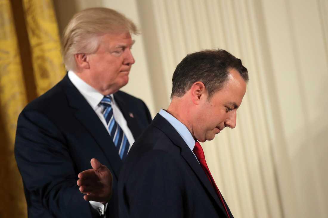Donald Trump och Reince Priebus