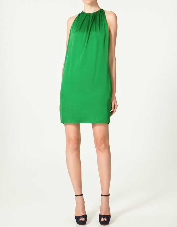 Grön festlig variant från Zara.se, 399 kronor.