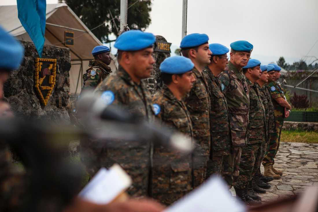 FN-styrkor i Kongo-Kinshasa.