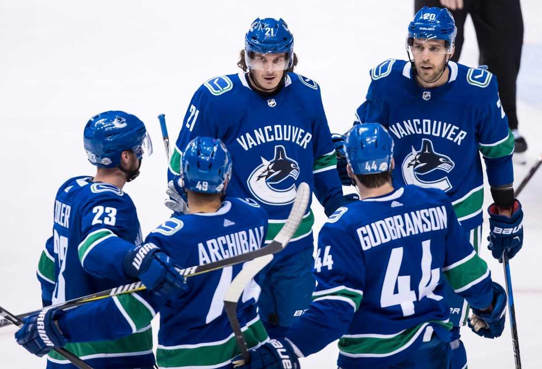 Loui Eriksson nätade i för Vancouver i segermatchen mot Buffalo.