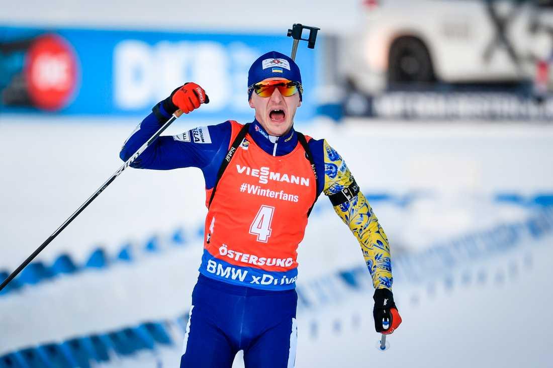 Dmytro Pidrutjnyj missar dagens distanslopp.