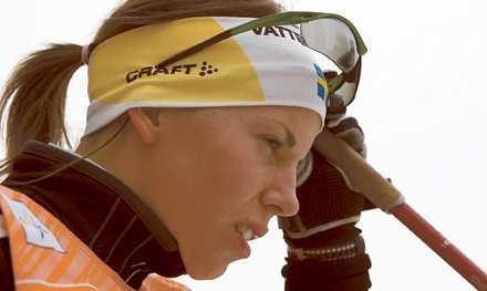 Redo Charlotte Kallas motstånd i helgen är inte riktigt av samma klass som i Tour de Ski senast.
