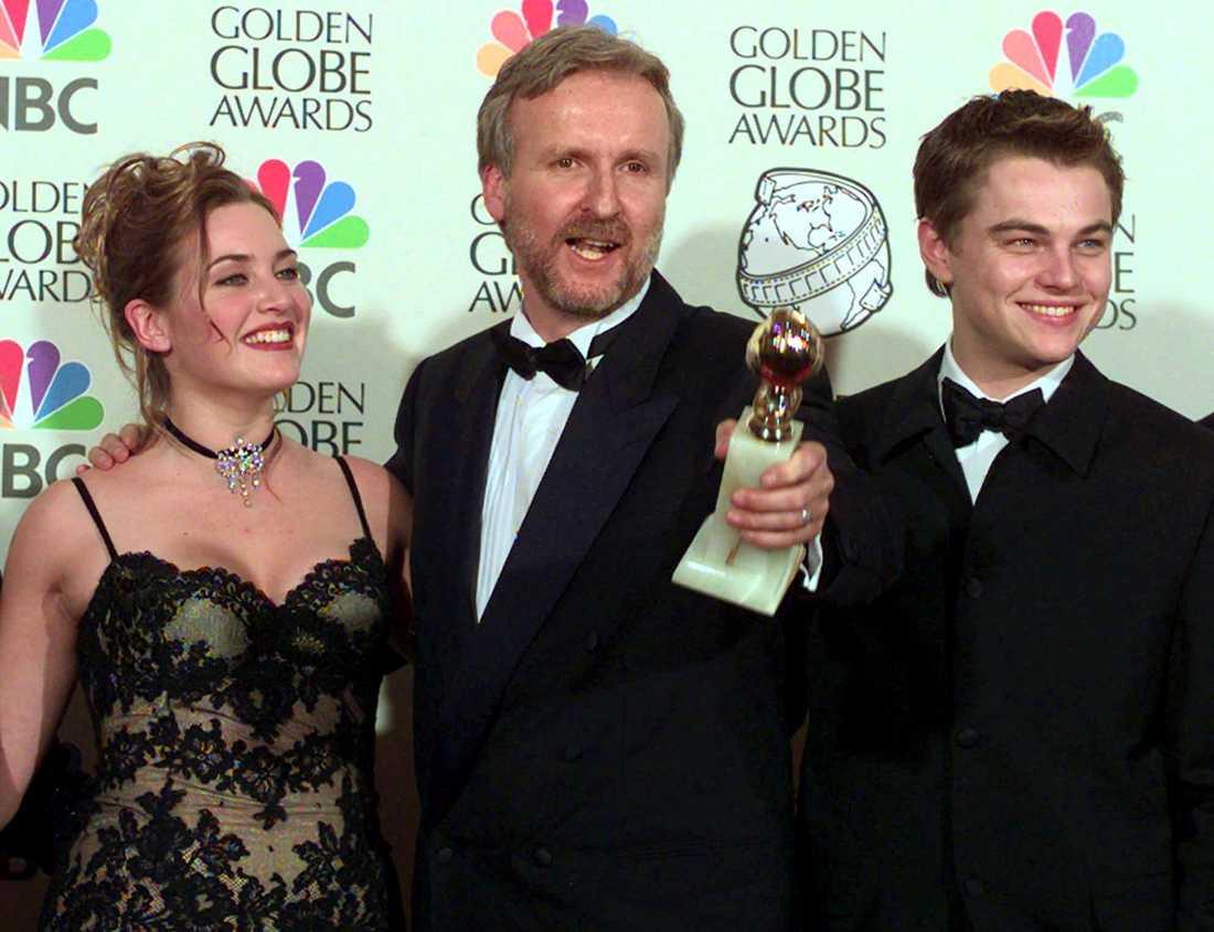 Den historiska triumfen med Titanic höll på att sluta med skandal för James Cameron.