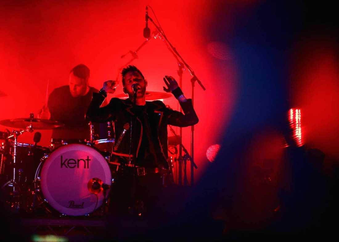 Kent på Bråvalla-festivalen 2015.