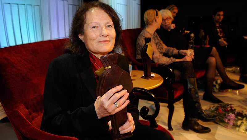 """VINNARE Sigrid Combüchen vann Augustpriset i den skönlitterära klassen med romanen """"Spill""""."""