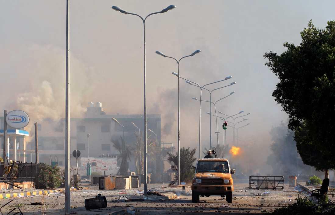 Tripoli blev till en krigszon.