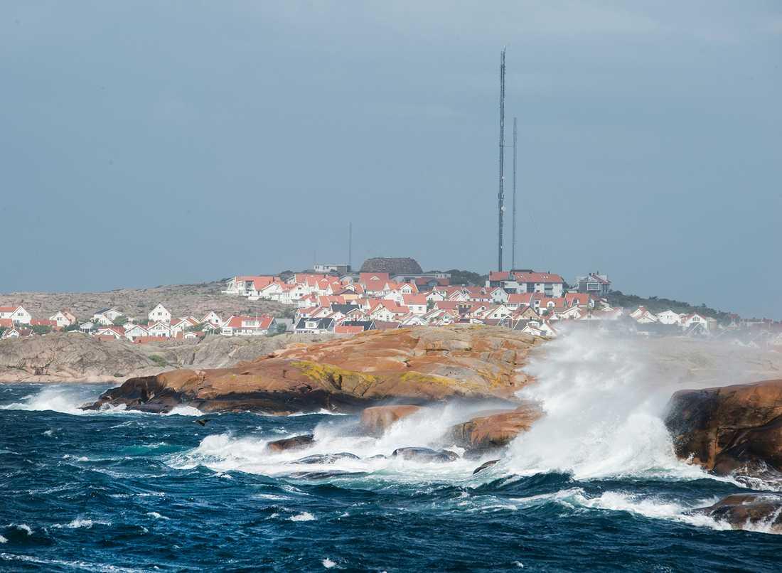 Storm i Bohuslän.