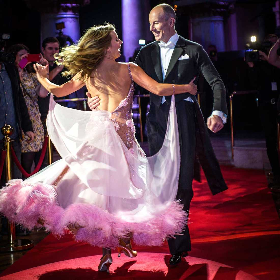 Inte en dans på rosor – om man får tro Ingemar Stenmarks danspartner.