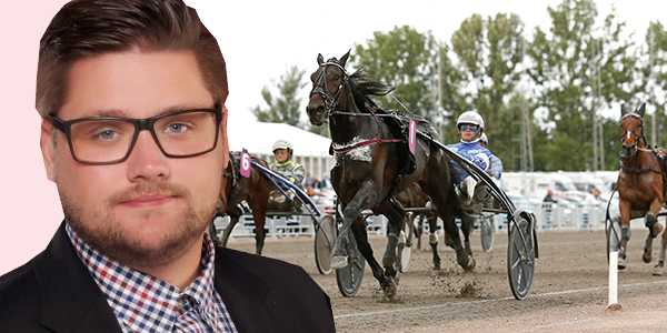 Trav365:s Nils Larsson guidar er från V75 på Mantorp i dag.