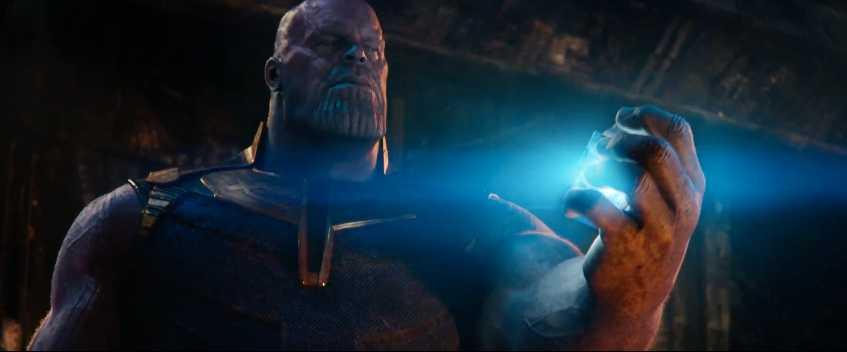 "Josh Brolin som Thanos i ""Avengers: Infinity war""."