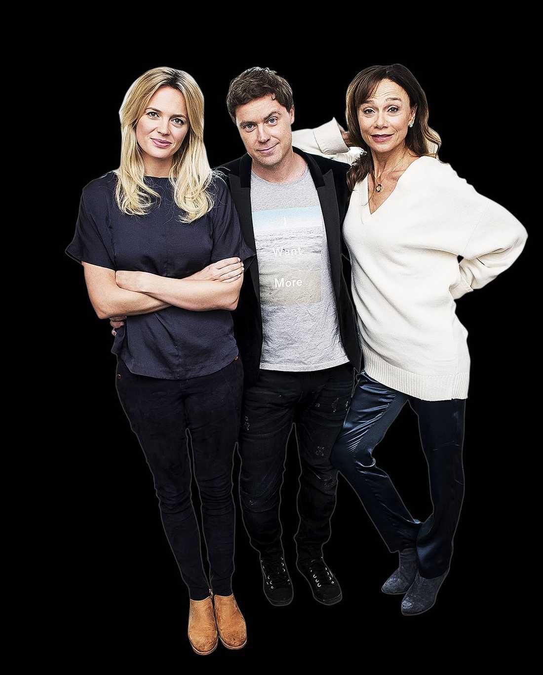 "Josephine Bornebusch, Greg Poehler och Lena Olin är med i ""Welcome to Sweden""."