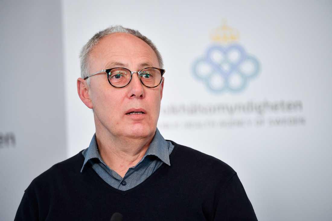 Thomas Lindén, avdelningschef på Socialstyrelsen, säger att myndighetens statistik inte stödjer bilden att äldrevården skulle vara dålig överallt.